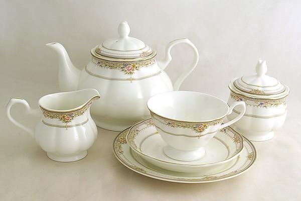 Чайный сервиз Лэнсбери 21 предмет на 6 персон (Emerald)