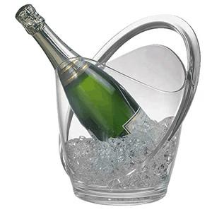 Ведро для шампанского; пластик; 3л; H=27.5,L=23,B=22см (APS)