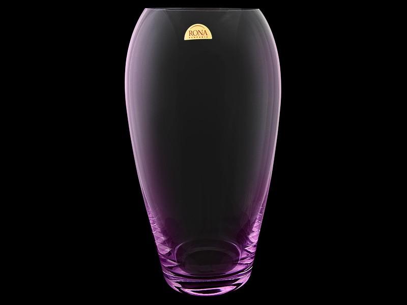 Ваза для цветов Фиолетовая подсветка (Rona)