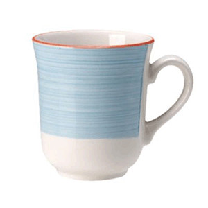 Кружка «Рио Блю», фарфор, 285мл, белый,синий (Steelite)