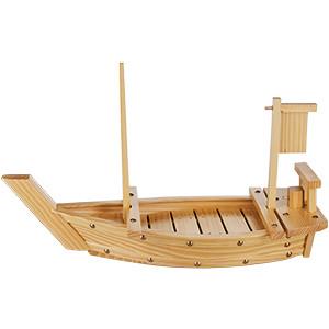 Блюдо «Корабль» L=55см дерево (West Honest)