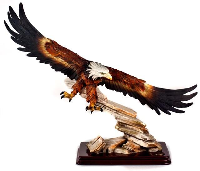 летящий орел фото