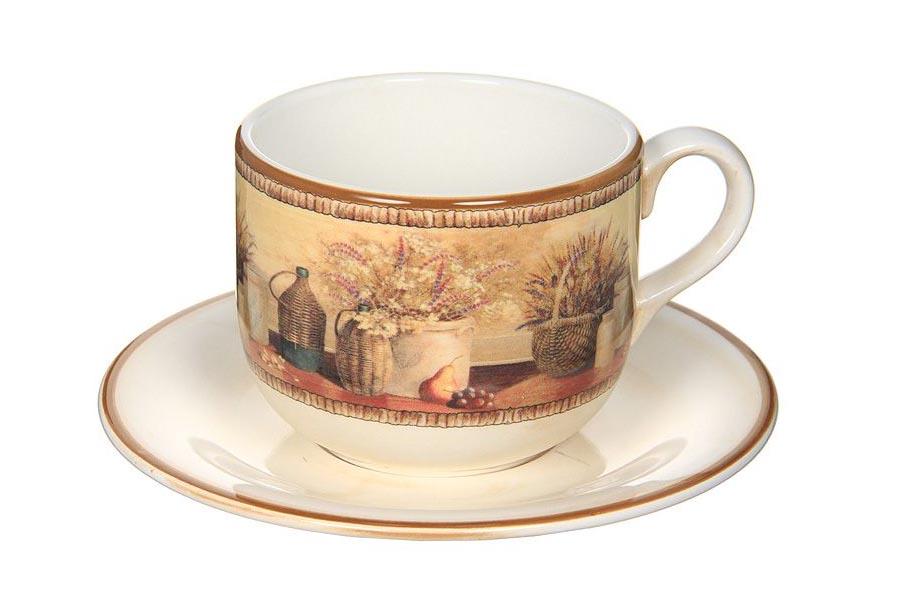 Чашка с блюдцем «Натюрморт» 0,5 л (LCS)
