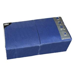 Салфетки 33*33см синие 250шт (Pap Star)