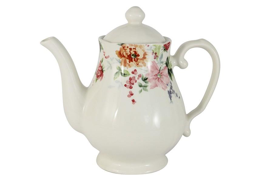 Чайник Цветы (Claytan)