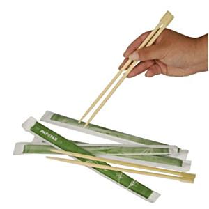 Китайские палочки l=23см,50пар(бамбук) (Pap Star)