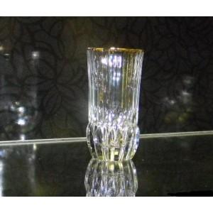 Набор 6 стаканов высоких 400 мл « Адажио» с золотом (RCR)