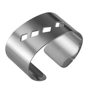 Кольца для салфеток«Квадри» 4 шт. нерж. (Ilsa)