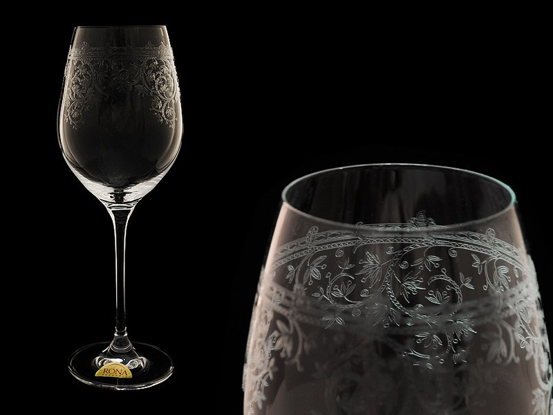 Бокал для вина Celebration, Европейский декор (Rona)