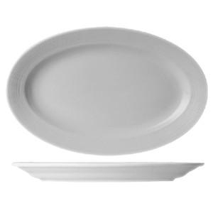 Блюдо овал «Граффити» L=41см фарфор (Tognana)
