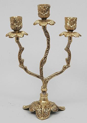 Пара канделябров 3 свечи 26х17см. (Virtus 1945)