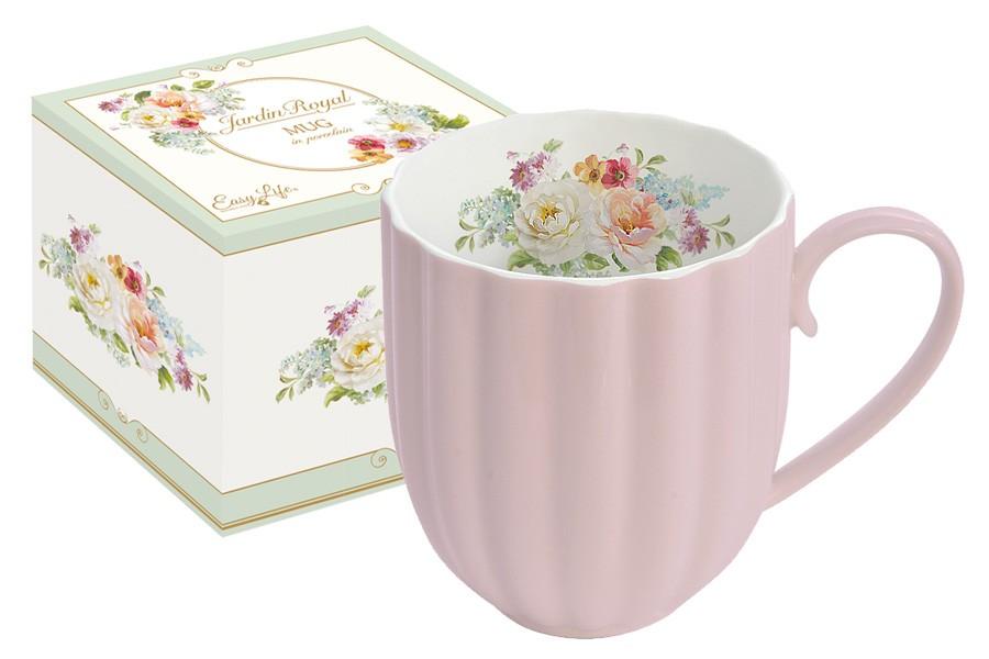 Кружка Королевский сад (розовая) (R2S)