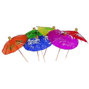 Зонтик на корот. ножке 100шт. (Melchert)