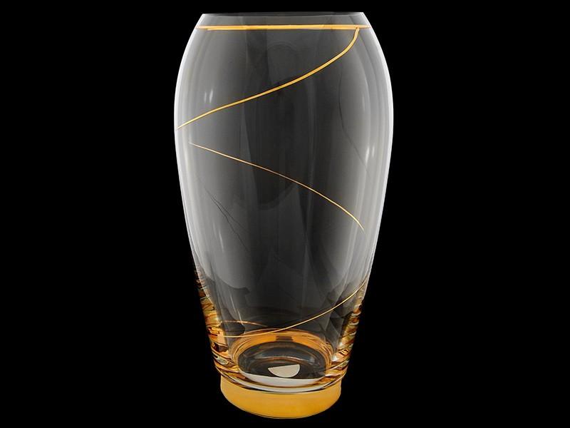 Ваза 29 см «Золотая спираль» (Rona)