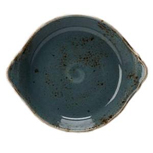Блюдо для запек. «Крафт»; фарфор; D=18.5см; синий (Steelite)
