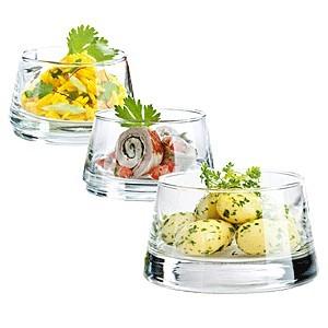 Набор салатников «Вертиго» 330/220/120мл (Durobor)