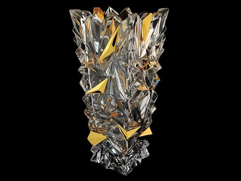 Ваза декоративная «Glacier» хрусталь (Bogemia Jihlava)