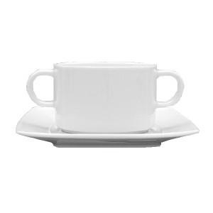 Бульон. чашка «Виктория-отель» 320мл фарф (Lubiana)