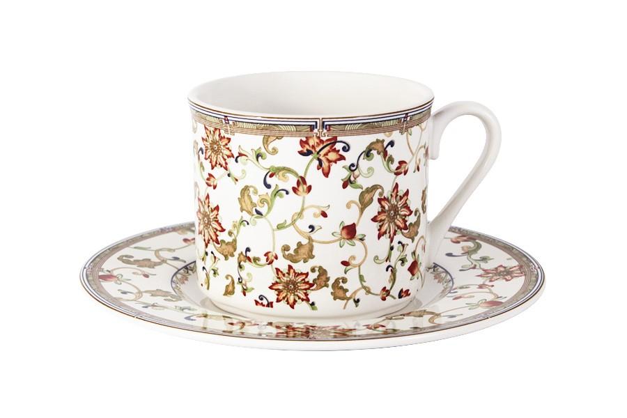 Чашка с блюдцем Кардинал (Imari)