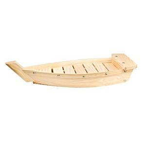 Блюдо «Корабль», дерево, H=55,L=330,B=150мм, бежев. (West Honest)