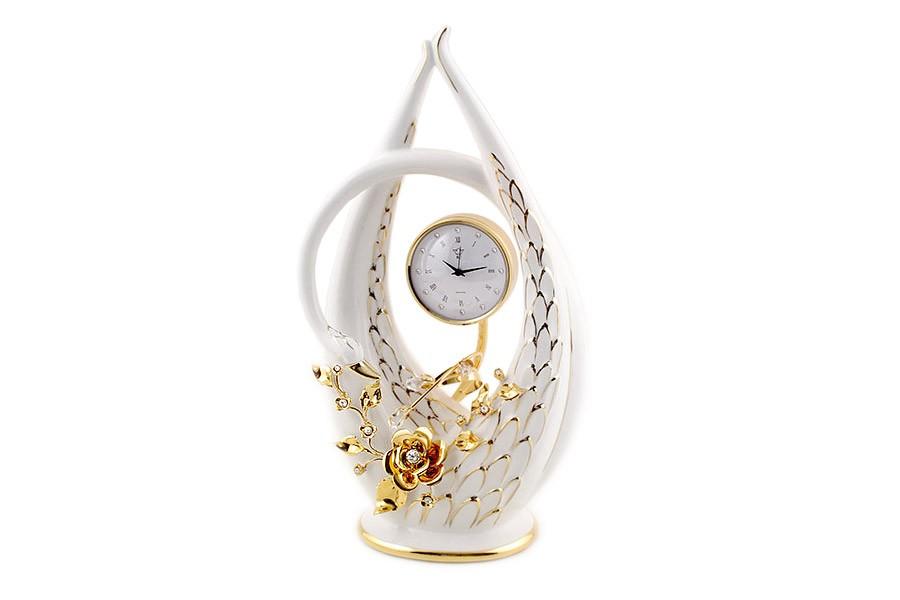 Часы настольные Лебедь (Bruno Costenaro)