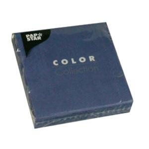 Салфетки 25*25см синие 20шт (Pap Star)