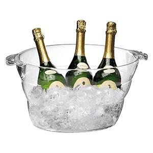 Емкость для охлаж.шампанс.(6 бутылок), акрил, 10л, H=23,L=47,B=28см (APS)