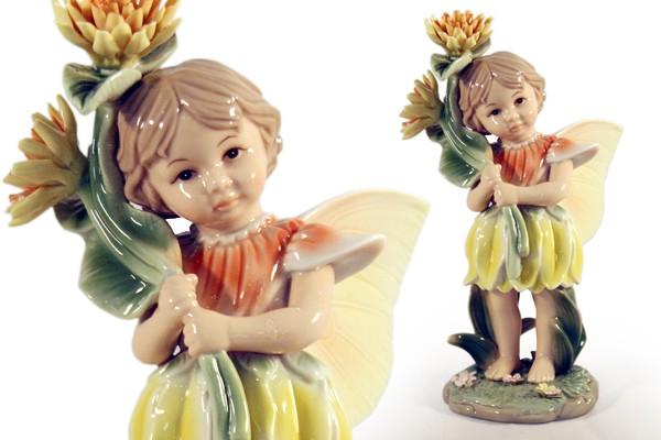 Статуэтка «Девочка - фея» (в жёлтом) (Navel)