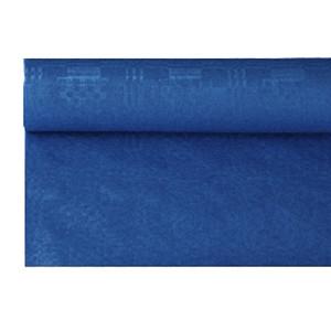 Скатерть в рул. синяя 1.2*8м (Pap Star)