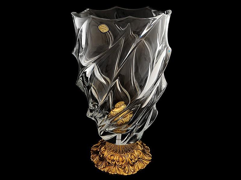 Ваза декоративная (Gold-Crystal)