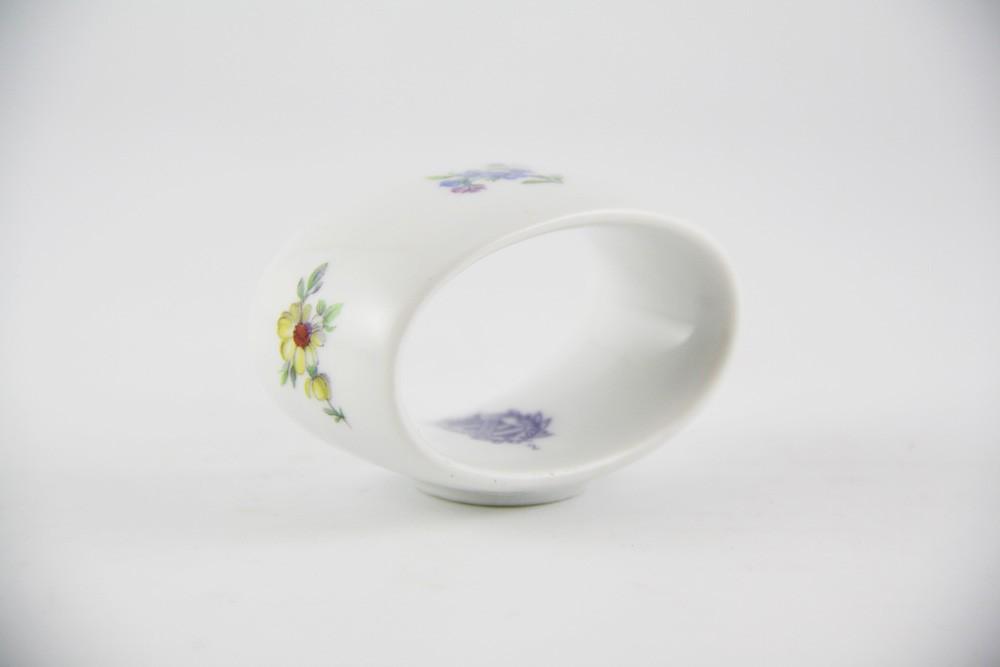 Кольцо для салфеток 6 см. «Мейсенский цветок» (Weimar Porzellan)