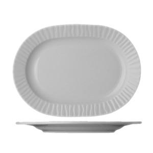 Блюдо овал «Нестор» 28см фарфор (Lubiana)