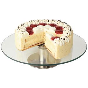 Подставка для торта вращ. d=30см,ножка h=7с (APS)