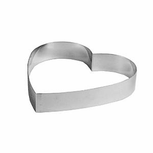 Форма для кондит.изделий «Сердце» 18 см h=4 (Paderno)