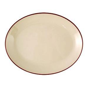 Блюдо овал «Кларет» 28см фарфор (Steelite)