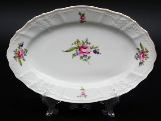 Блюдо овальное 26 см «Полевой цветок 5309011» (Thun 1794 A.S.)