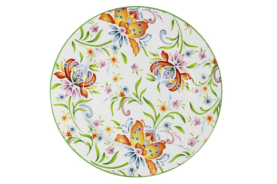 Обеденная тарелка Аквитания (Imari)