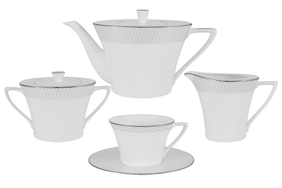 Чайный сервиз из 17 предметов на 6 персон Бриз (Narumi)