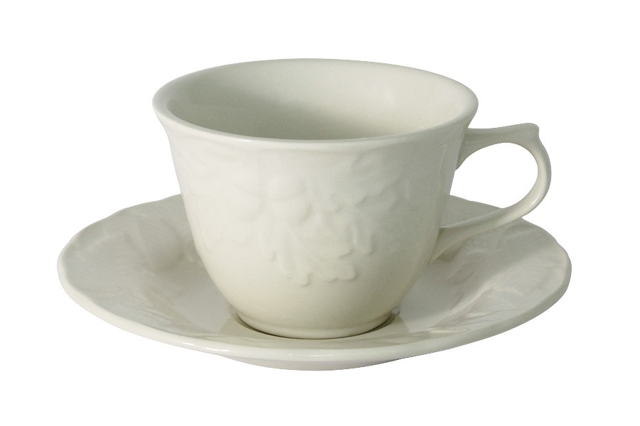 Чашка с блюдцем Роща (Claytan)
