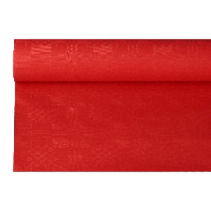 Скатерть в рул. красная 1.2*8м (Pap Star)