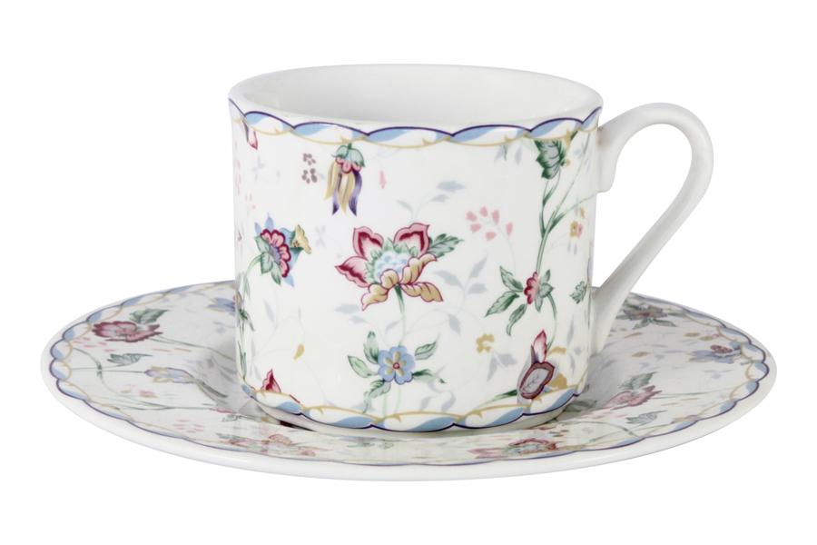 Чашка с блюдцем «Букингем» Объем - 0,2 л (Imari)