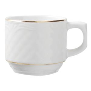 Чашка «Афродита» с зол. 100мл фарфор (Lubiana)