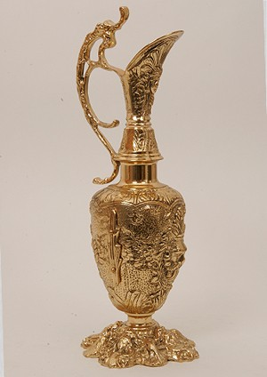 Кувшин с 1 ручкой золотистый 44х17 см. (Virtus 1945)