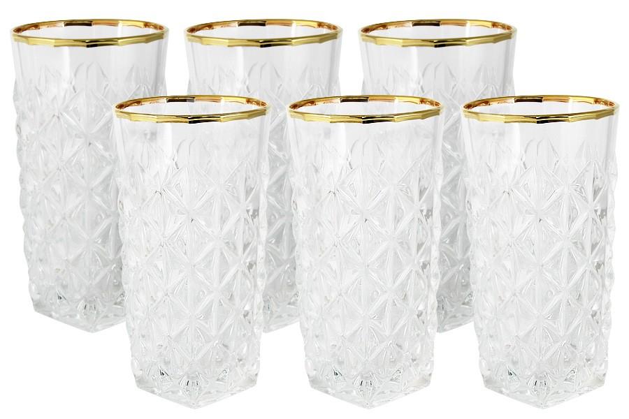 Набор: 6 стаканов для воды Энигма (Same)